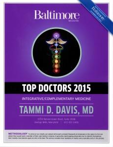 Tammi Davis Baltimore's Top Complementary Medicine Doctor